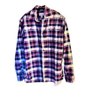 Jachs cozy & comfy plaid cotton flannel shirt